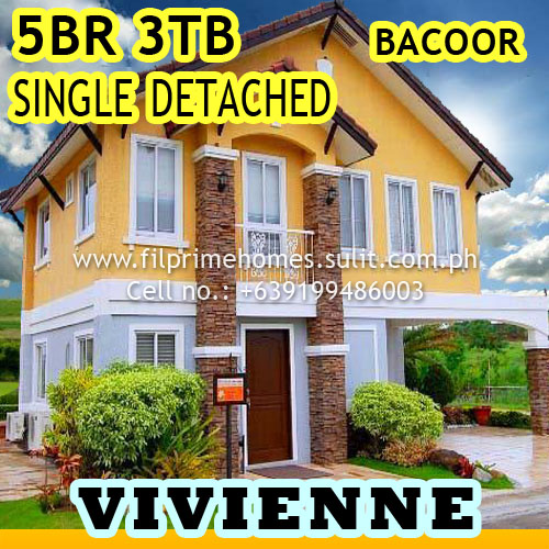 House And Lot For Sale Bellefort Estates House And Lot Single Detached Bacoor Cavite Vivienne